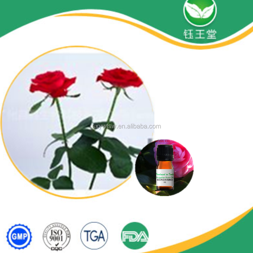 100% Pure natural bulgarian rose essential oil therapeutic grade for aroma massage oil whole sale price