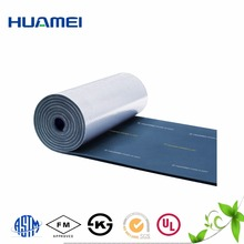 Fireproof Aluminum Foil Rubber Foam Thermal Insulation Sheet/Roll