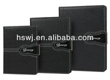 Newest best sale elegant design office&school PU&PVC leather hard&soft cover notebook
