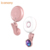 360 degree rotating HOME key one button control touch sensor synchronous flash selfie ring light