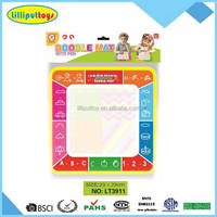 Colorful Water Learning Writing Mat with Water Drawing Pen Doodle Toy Gift