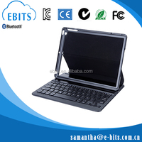 Businessman pad frame leather case bluetooth3.0 language customized keyboard for ipad