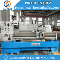 Horizontal Lathe Machine C6256 length2000MM
