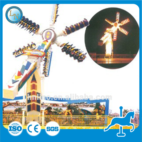 Outdoor game rides carnival thrilling family park equipment Speed Windmill for sale