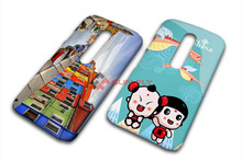 3D Sublimation Blank Gloss Custom printing phone case for MOTO G3
