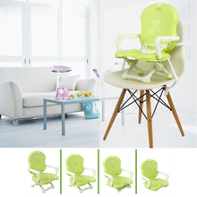 Safety foldable plastic feeding children chair of baby booster dining chair