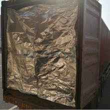 Heat insulation shipping container liner