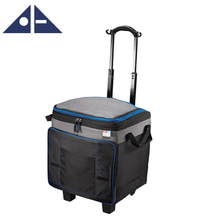 Outdoor Save Effort Lunch Box Trolley Picnic Cooler Bag For Adults With Wheels