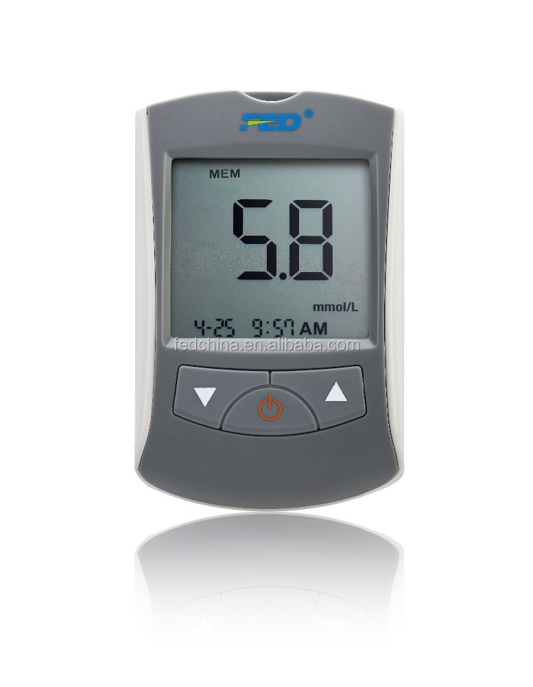 Accurate Blood Sugar Tester For Diabetics CE Certificate