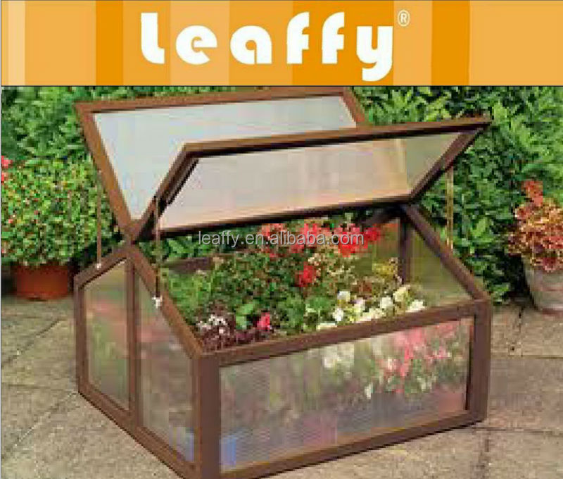 LAFFY-Wooden Garden Cold Frame EB-8002