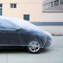 Hot Selling Transparent Clear Plastic Car Covers PE Cover LDPE Cover