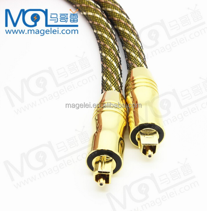 Digital Optical Optic Fiber Toslink Audio Cable