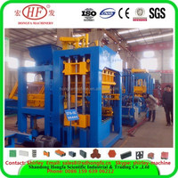 Hot sale top quality QT10-15 hollow block machine with best price and good quality