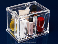 High quality clear acrylic plastic makeup display case