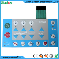 Medical Equipment Application And PET Material Keyboard Membrane Switches