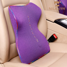 China Supplier Car Cushion Pillow Decorative Bus Driver Back Rest Seat Cushion