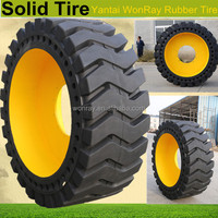 good shock absorption wheel loader solid tyre 17.5-25 (patent products)