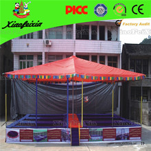 high jump sport trampoline with tent