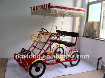 newly design and high quality pedal surrey adult pedal go kart F5160