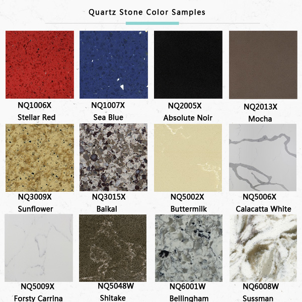 Newstar Artificial Quartz Stone slab size Supplier inexpensive kitchen countertops pictures choices