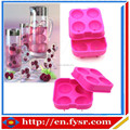 Four Balls Silicone Ice Ball Maker & Ice Ball Mold & Ice Mold