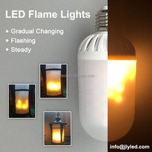 3D Vivid LED Flame Bulb Light AC110V/220V
