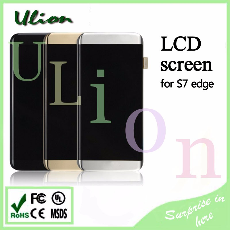 100 % Brand new LCD For Samsung Galaxy S7 edge LCD Display Replacement