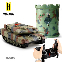 China toy factory new products 2016 Huanqi HQ550B 2.4G remote control toys rc battle tank with turrt