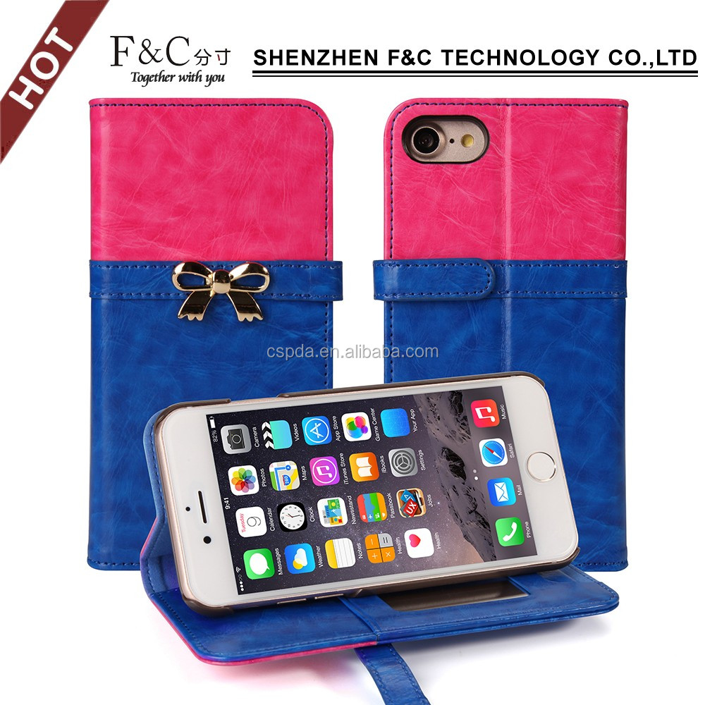 mobile phone shell , pu case for iphone 7, for iphone case