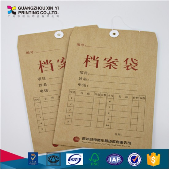 Cheap kraft paper packaging from China supplier