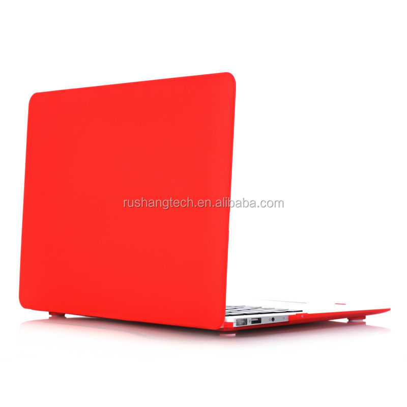 Matte hard plastic case for macbook pro retina13 inch colorful thick pc shell cover for apple laptop