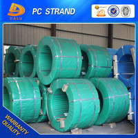 new 12.54mm zinc coated/galvanized steel stranded wire(factory)