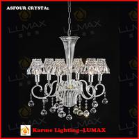 Luxury bohemian modern crystal chandelier