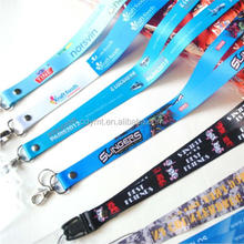 Top grade custom gradient ramp color heat transfer printing lanyard