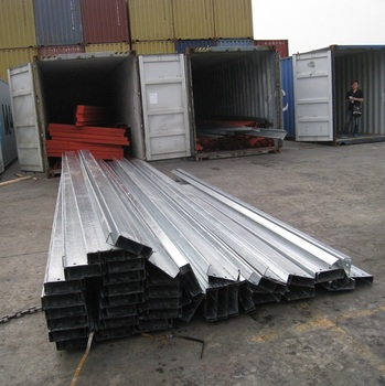 Glavanized C channel and C purlins for Vietnam / steel sheet pile