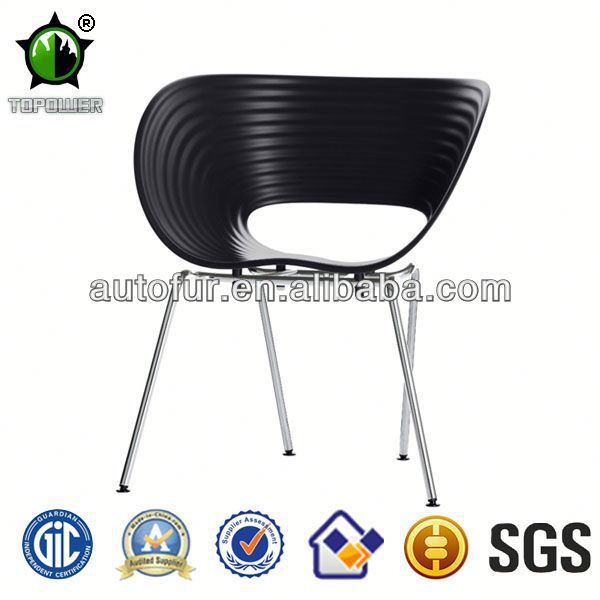 Hot Sale Plastic Bright Colored Dining Chairs egg chair
