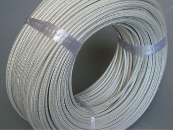 Tinned copper silicone fiberglass shielding heat resistant for Is fiberglass heat resistant