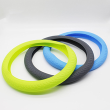 Silicone heated steering wheel cover