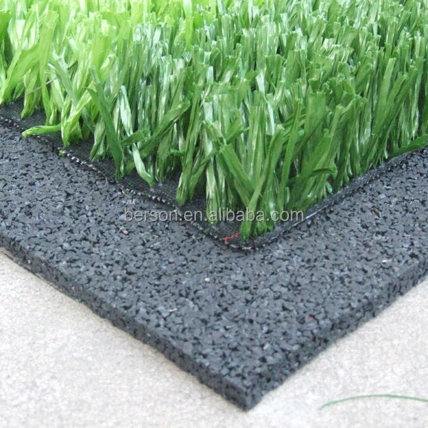 rubber turf flooring/synthetic turf shock pad