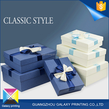 Lowest price wholesale new style wallet bow tie gift shoes packaging paper box