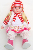 porcelain doll factory direct selling doll toy beautiful american girl doll toy