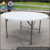 portable outdoor banquet 60inch 5ft round folding table HDPE plasdtic folding table