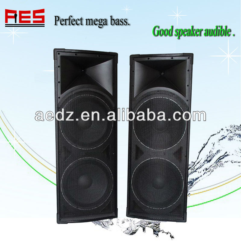 15 inch outdoor stage speaker with usb port,sd card slot,laser light in Guangzhou