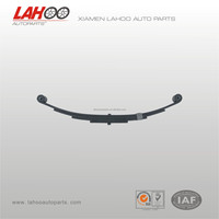 PR4 4 leaf double eye small trailer leaf spring