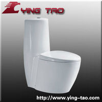 Bathroom toilet floor mounted ceramic one piece sanitary ware siphonic types european water closets modern decorative toilet