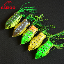 Wholesale Bionic Mouse Frog 14g 6cm Bait Fishing Soft Frog Lure