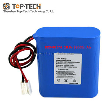 10.8v battery pack 38Ah big battery pack ER34615 3s2p