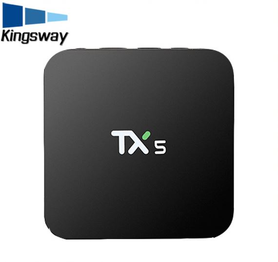 Magicsee Iron TV Box Amlogic S905X Android 6.0 Marshmallow Wifi 4K*1K Media Player VS T5X PRO V88 tx5 T95X KM8 Smart tv box