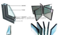 Temperted laminated /insulation glass for building /window/door with best price