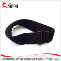custom adjustable straps cable tie buckle hook and loop strap adjustable elastic hook and loop buckle strap